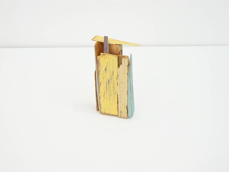Liz Sweibel Abstract Sculpture - Untitled (Scrapings #5)