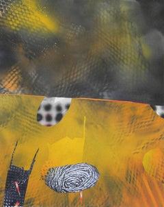 Jane Sangerman, Digit 53, 2016, Spray Paint, Acrylic Paint, Abstraction