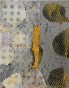Jane Sangerman, Road 2, 2014, Found Objects, Wax, Oil Paint, Spray Paint, Modern