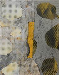 Jane Sangerman, Road 2, 2014, Found Objects, Wax, Oil Paint, Spray Paint