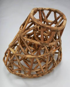 Loren Eiferman, Black Hole, 244 pieces of wood, 2012, Wood
