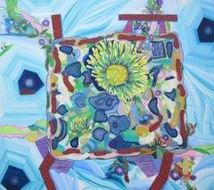 Charles Geiger, Table Arrangements, 2016, Canvas