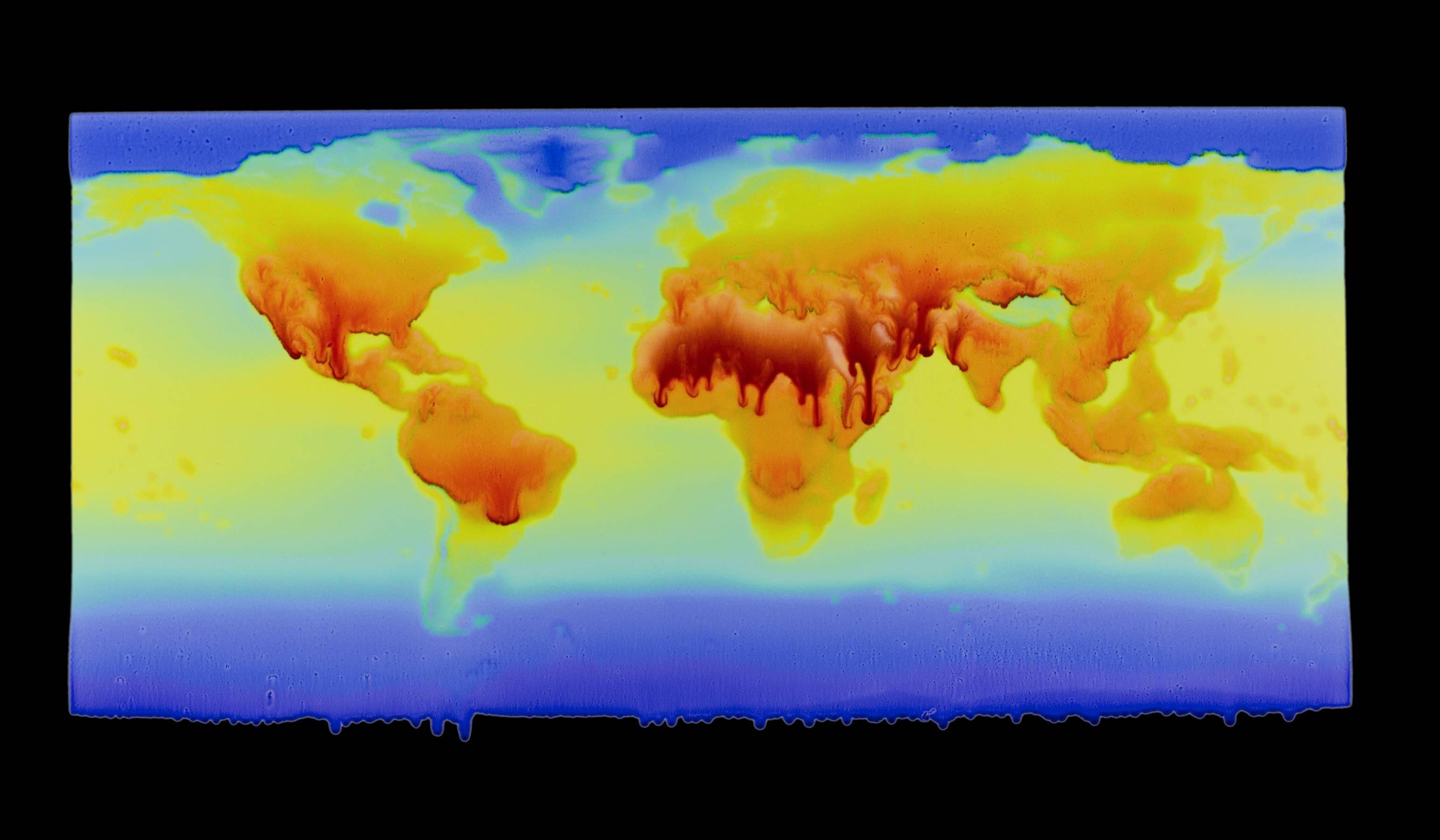 Jeff Becker, Planetary Breathing, 2017, Video, Digital Pigment Print