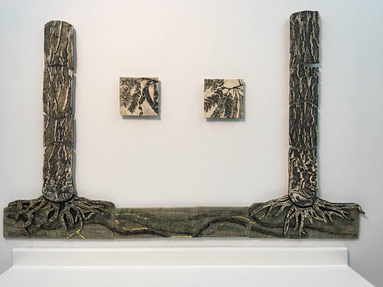 Susan Stair Still-Life Sculpture - Wood Wide Web