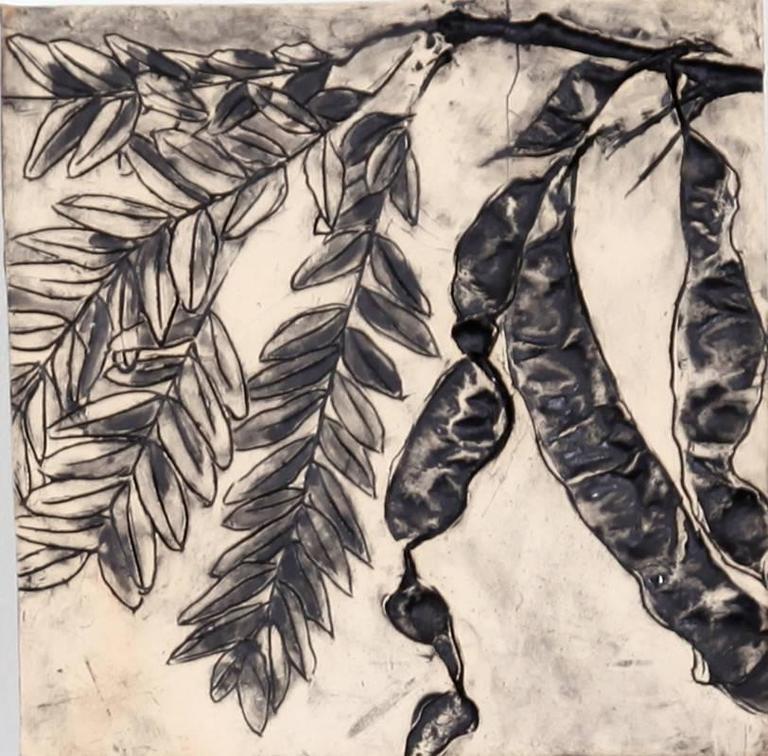 Susan Stair, Honey Locust 2, 2015, Clay, Stoneware, Pigment