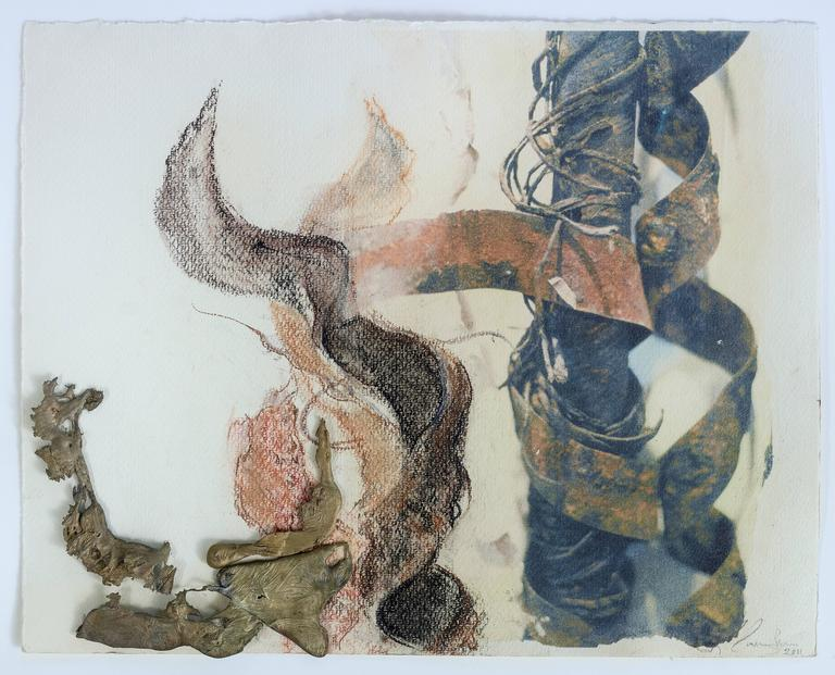 Linda Cunningham Landscape Art - Unravelling II