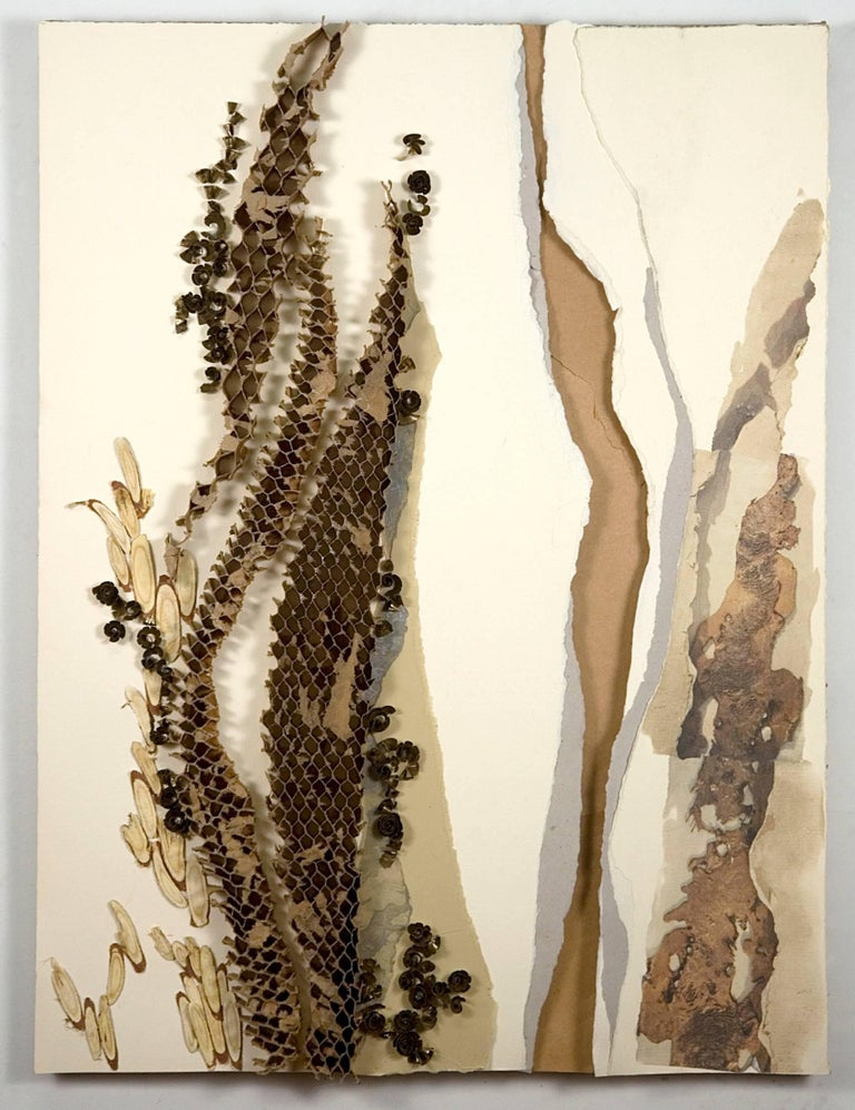 Linda Cunningham , 'Urban Mining IV', 2012, Brass, Wood, Cardboard