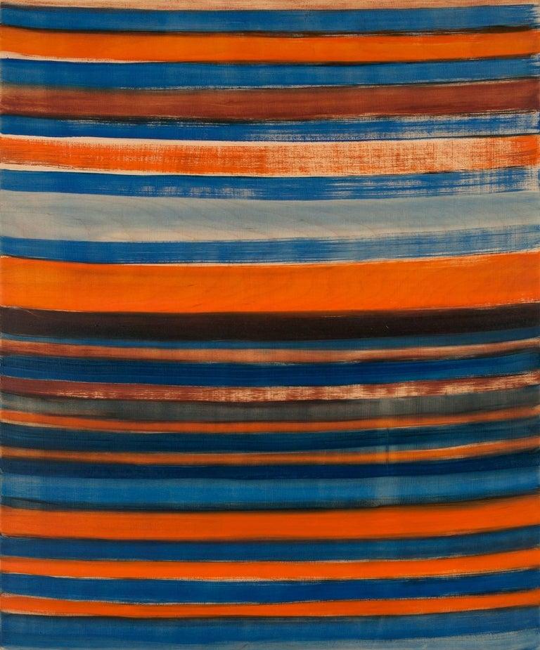 Emily Berger, Twelve Bar Blues , 2014, oil paint, wood panel