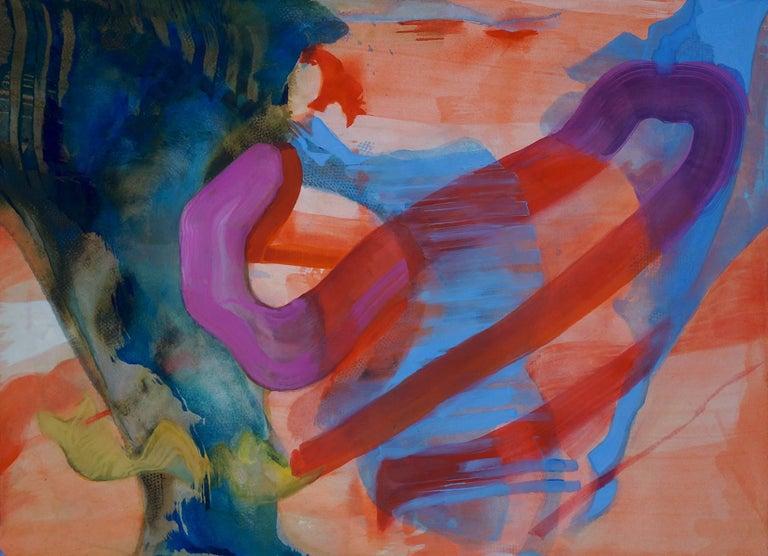 Vincent Dion, Victory Sleep, 2016, Acrylic Paint, Watercolor, Gouache