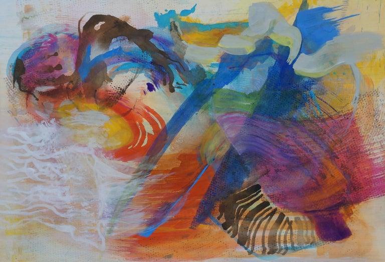 Vincent Dion, #54, 2016, Acrylic Paint, Watercolor, Gouache, Rag Paper