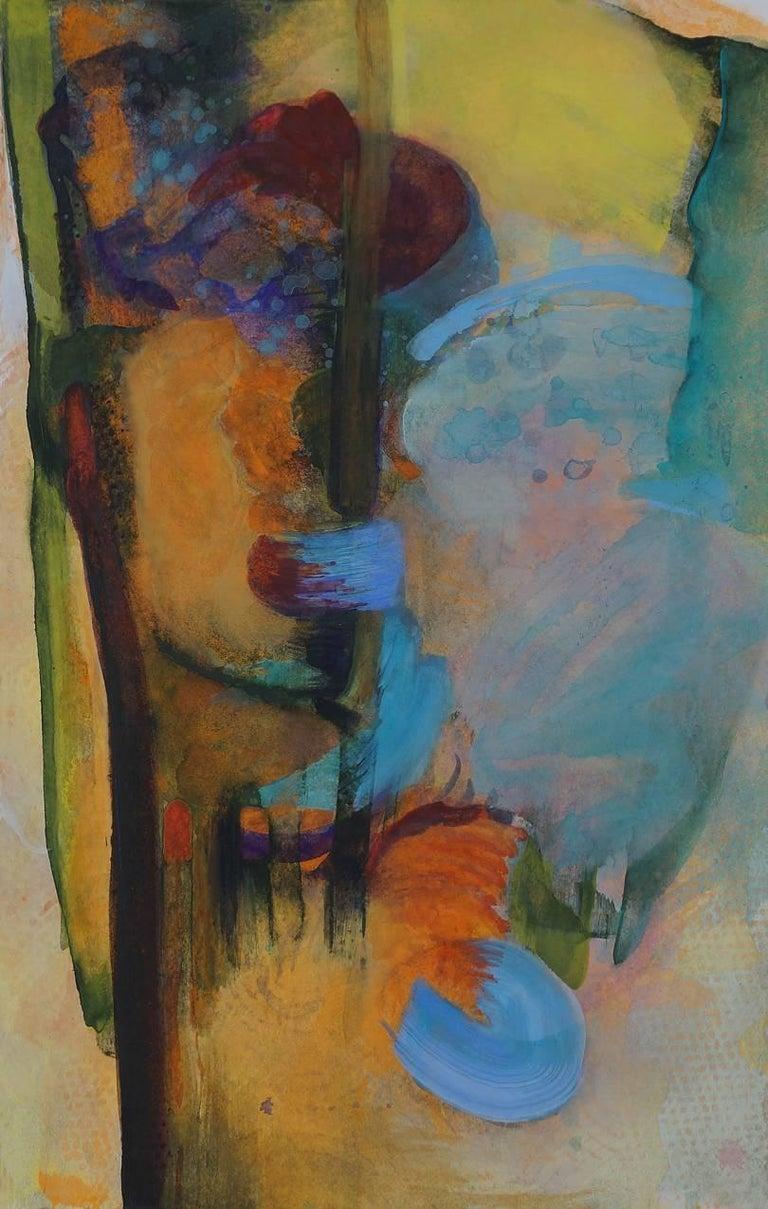 Vincent Dion, Plan Elevation #1, 2017, Acrylic Paint, Watercolor