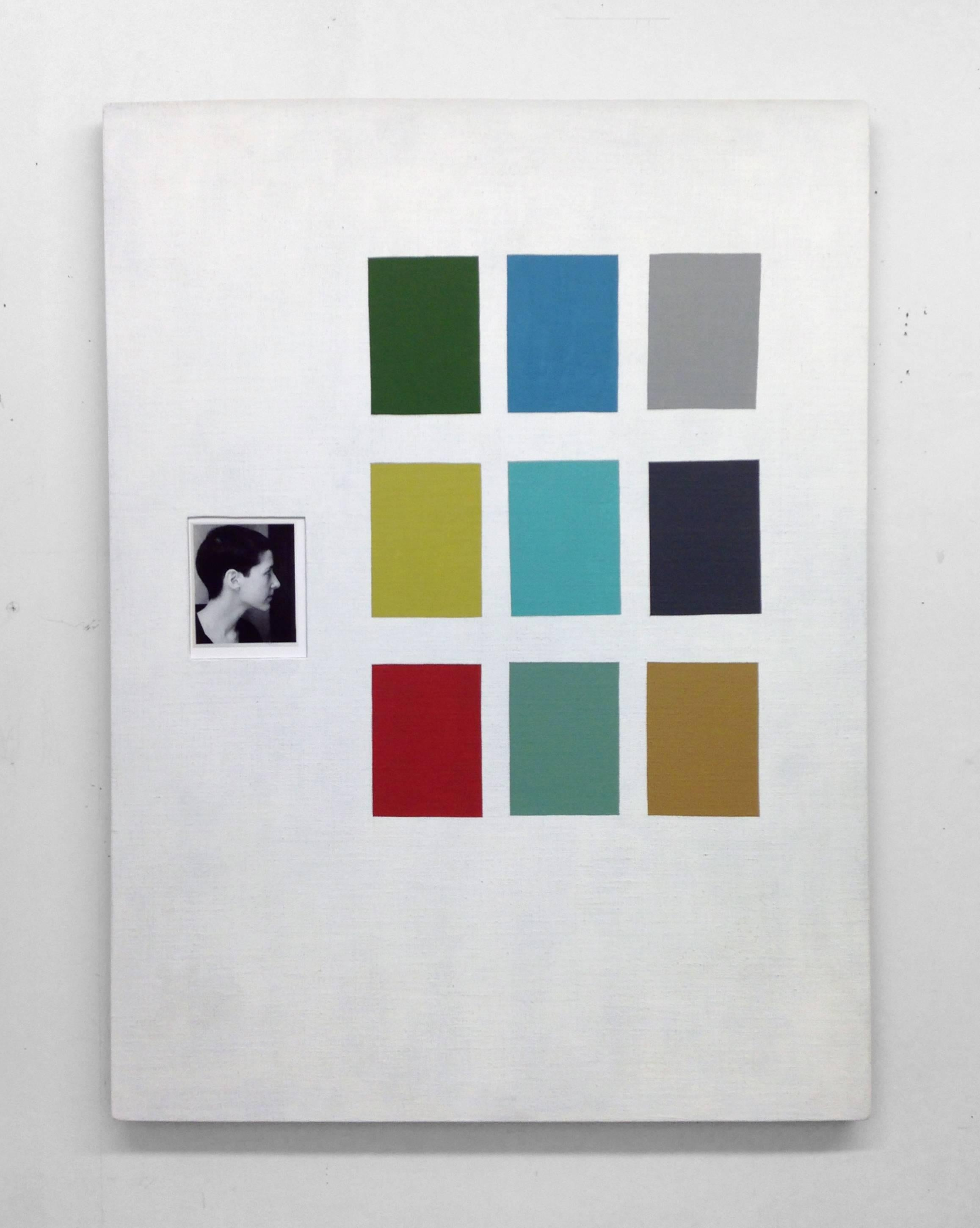 Ken Weathersby, 281, 2017, Linen, Acrylic Paint, Graphite