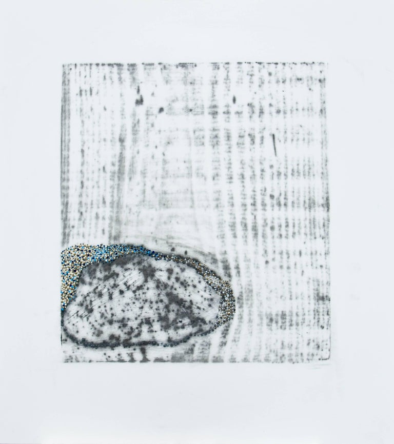 Alyse Rosner Abstract Drawing - Afterimage 3