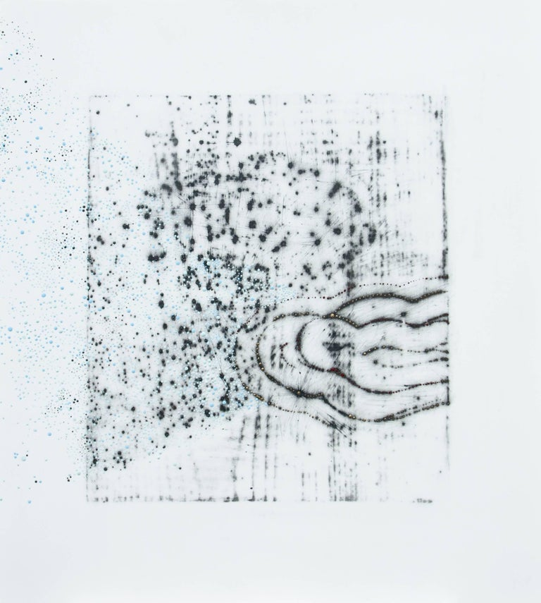 Alyse Rosner Abstract Drawing - Afterimage 6