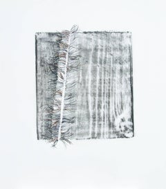 Alyse Rosner, Split 17 Feathery, 2007, Polyester, Acrylic Paint, Graphite