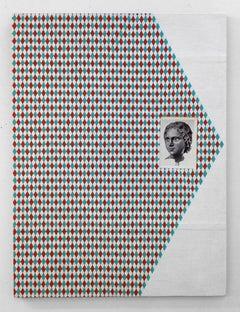Ken Weathersby, 257, 2016, Linen, Acrylic Paint, Graphite