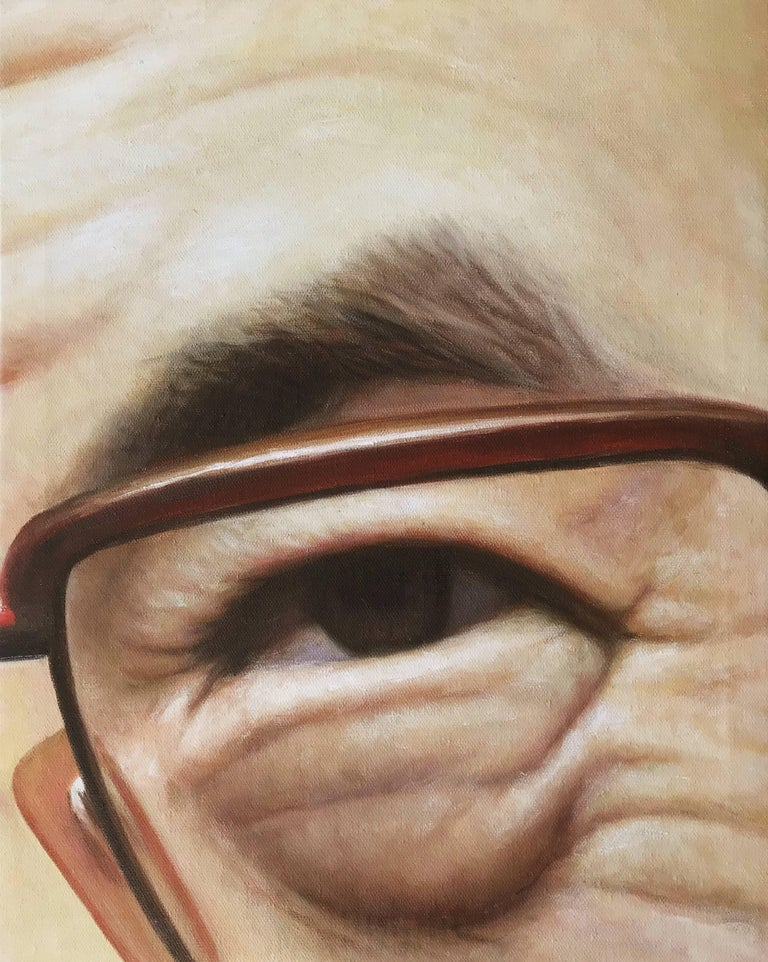 Airco Caravan Portrait Painting - Eye on China