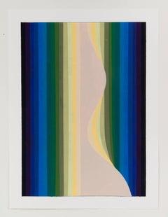 Audrey Stone, Glow, 2017, Acrylic Paint