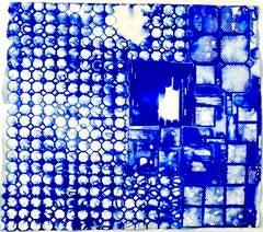 Ellen Hackl Fagan, Seeking the Sound of Cobalt Blue_Delft, 2015, Rag Paper