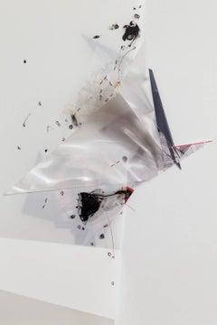 Gelah Penn, 'Serial Polyglot Y, #4 Detail', 2015, Metal, Wire, Mylar, Lenticular