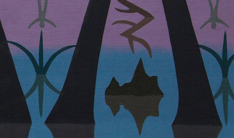 Swamp Motif - Painting by Caetlynn Booth