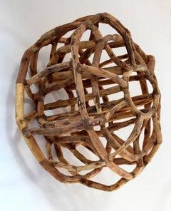 Loren Eiferman, Calabi-Yau, 165 pieces of wood, 2013, Wood