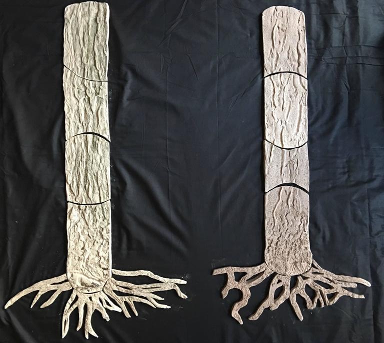Wood Wide Web - Sculpture by Susan Stair