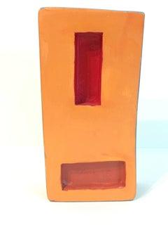 Dorothy Mayhall, Monument 1, 1995, Terracotta, Acrylic Paint