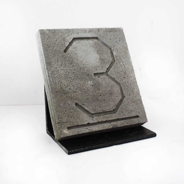 Klapper & Gallagher, The Golden Ratio f4, 2016, Steel, Concrete - Sculpture by Klapper & Gallagher