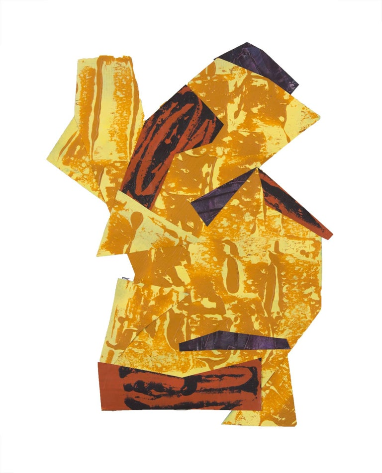 Tony Saunders Abstract Painting - Tomita