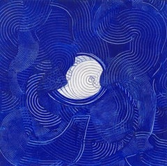 Andra Samelson, Hide and Seek III, 2017, Acrylic Paint, Rag Paper