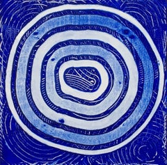 Circling Blue