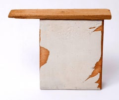 Diane Englander, White and Wood I, 2013, Wood, Mixed Media
