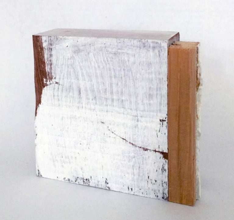 White and Wood XVI - Mixed Media Art by Diane Englander