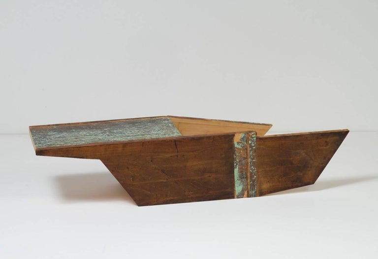 Emily Feinstein, Barge, 2015, Wood, Paint
