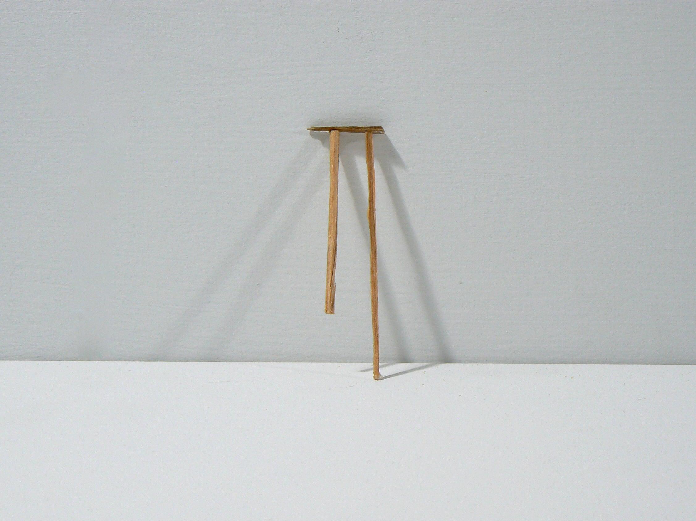 Liz Sweibel, Untitled (Splinter 8 ), 2014, Wood, Paint, Found Objects