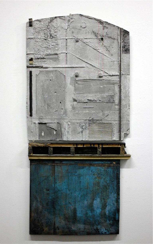 Levan Mindiashvili, 'Untitled 09 (Unintended Archeology)', 2015, Steel, Plaster - Sculpture by Levan Mindiashvili