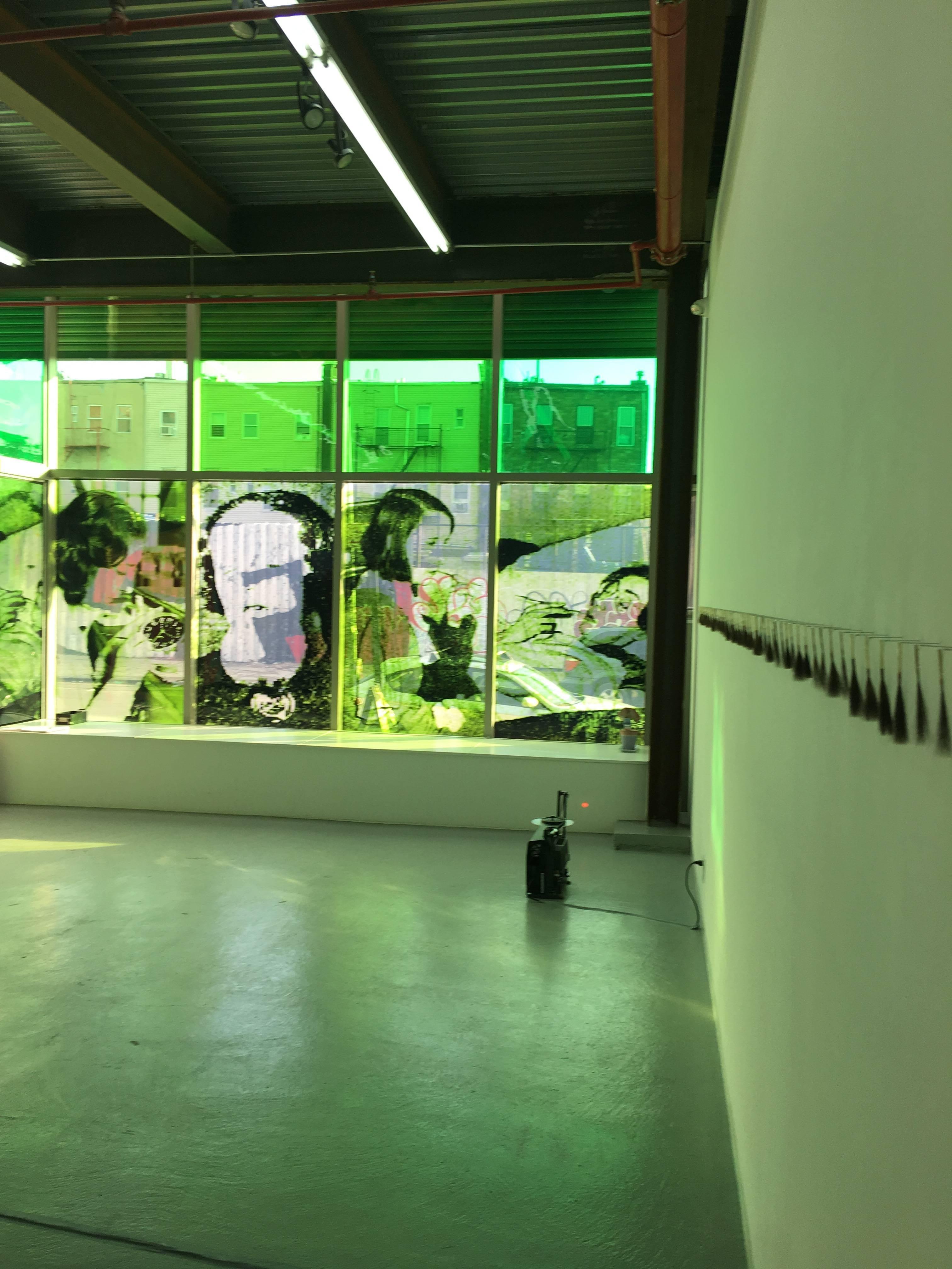 Jo Yarrington, Ghost Girls, 2018, Organic Material, Photographic Film, Plastic