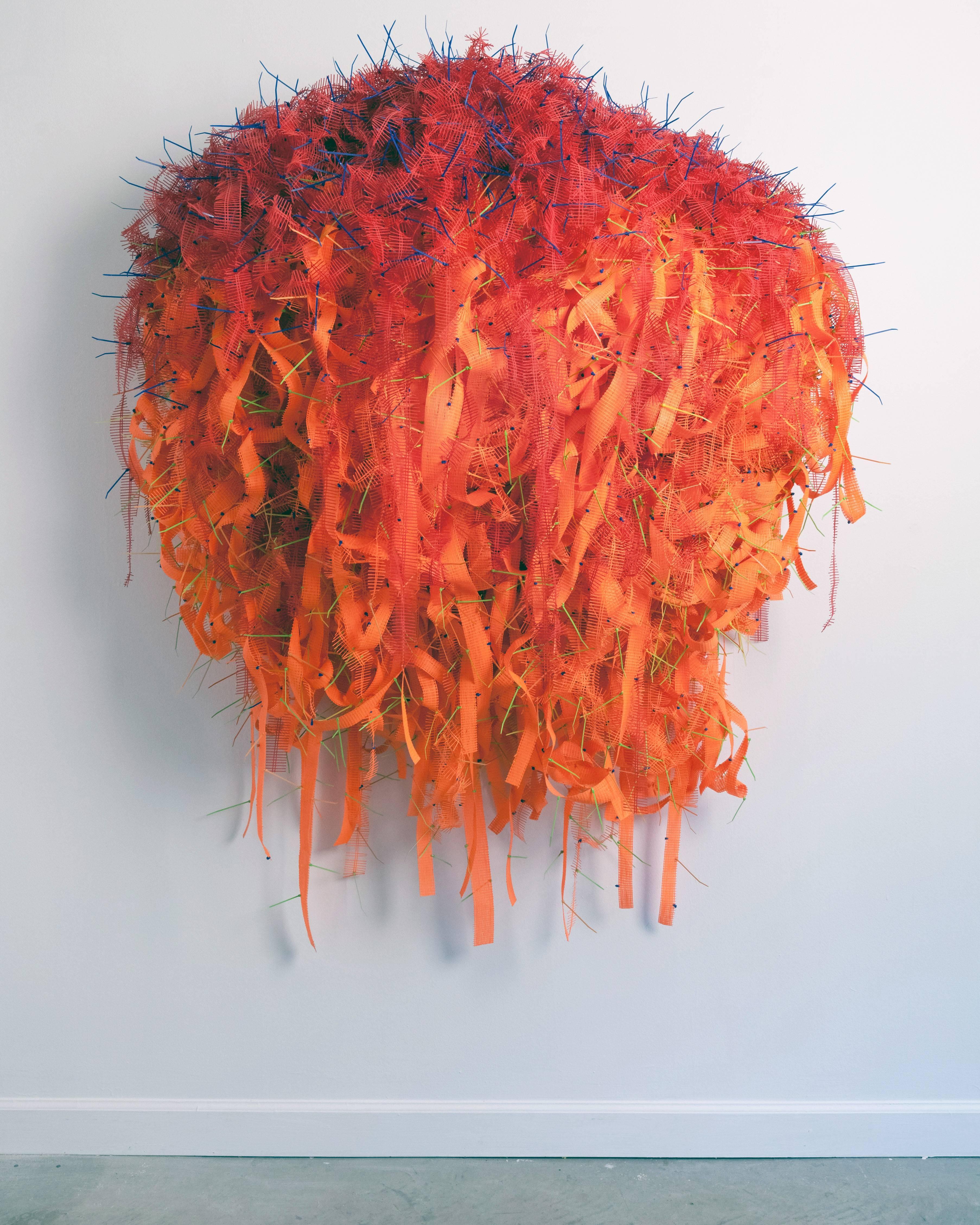 Joseph Fucigna, Burning Bush, 2001, Plastic, Found Objects