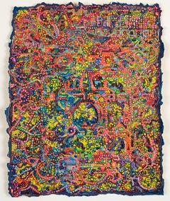 David Ambrose, Lemon Circuit Breaker, 2017, Watercolor, Gouache, Handmade Paper
