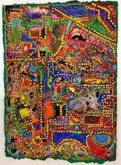David Ambrose, Brazilian Irrigation, 2017, Watercolor, Gouache, Handmade Paper