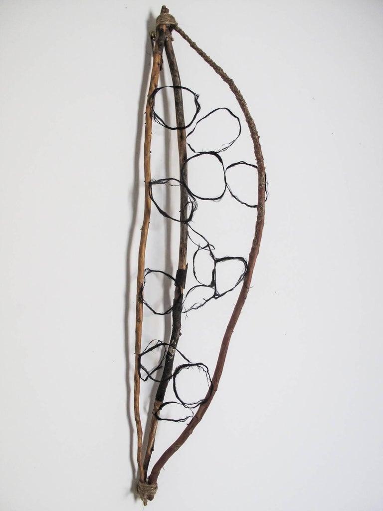 Paz Perlman, Self Portrait 2, 2017, Wood, Archival Paper - Sculpture by Paz Perlman