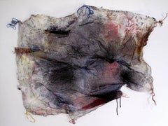 Paz Perlman, No Discrimination, 2017, Textile, Wire, Found Objects, Ink