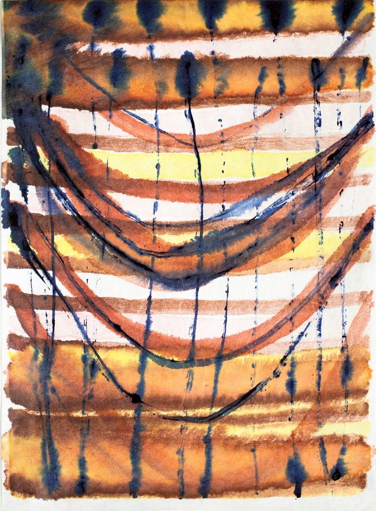 Emily Berger, Garden, 2016, paper, ink