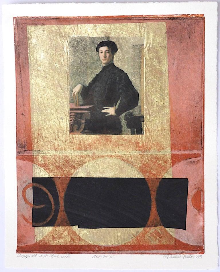 Suzanne Benton Portrait Print - Male Grace