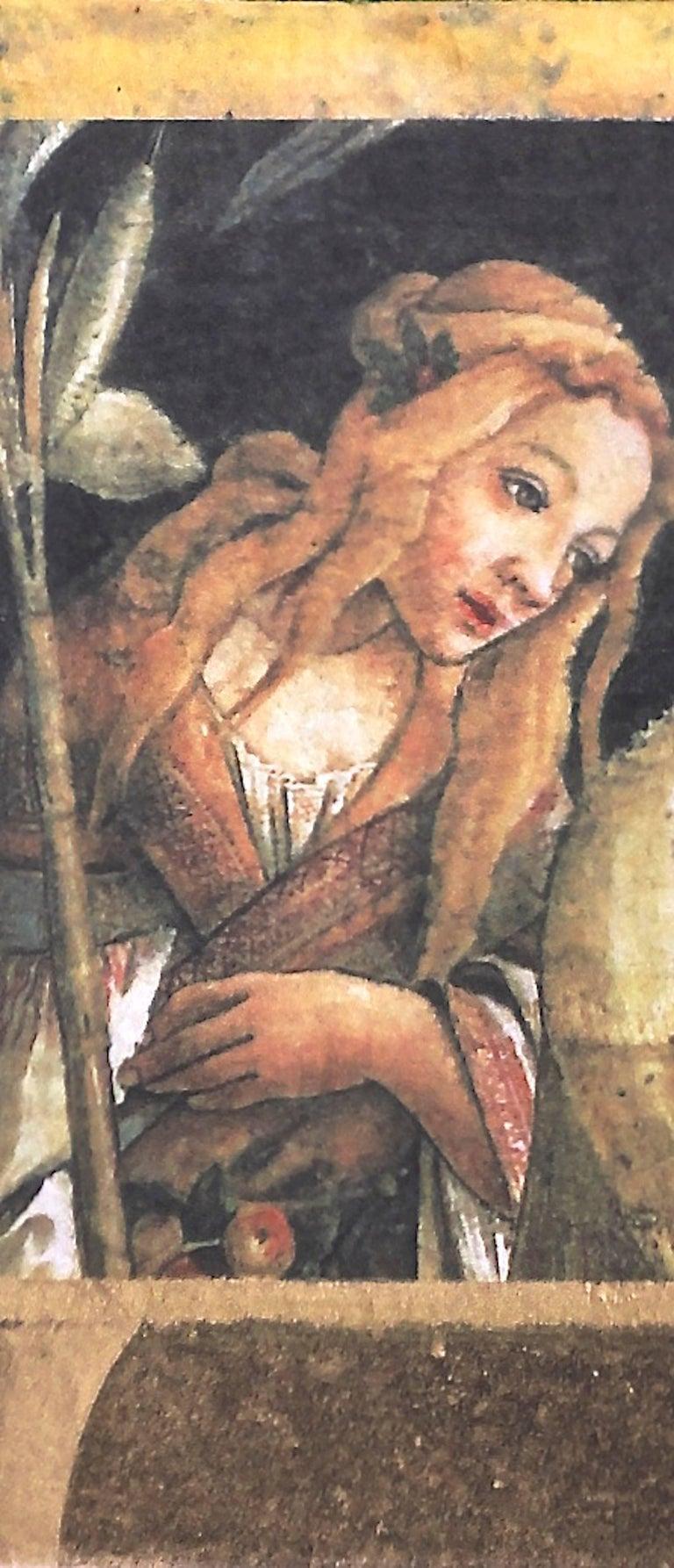 Renaissance Maiden - Print by Suzanne Benton