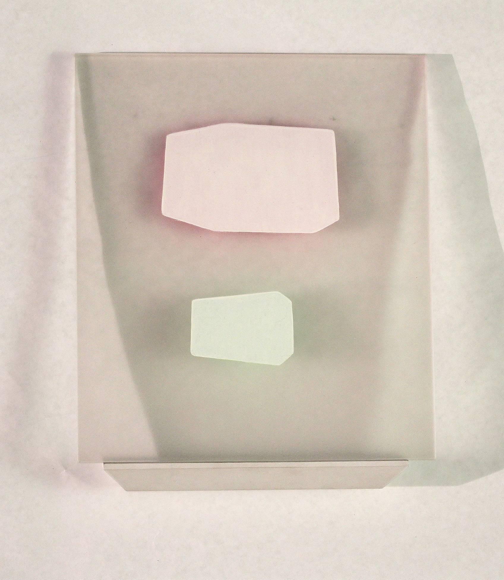 Steven Baris, Ruse Of Transparency 13, 2014, plexiglass, acrylic paint
