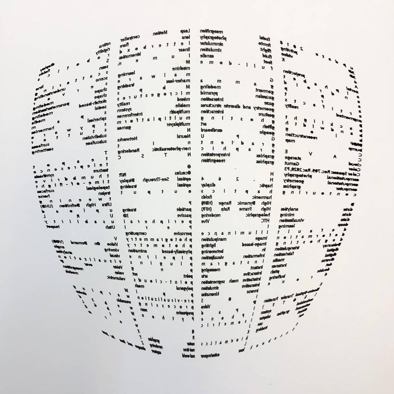 Copper Giloth, Alphabet Gestures, 25-Cutback, 2018, archival inkjet prints