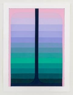 Audrey Stone, Double Pour, 2017, Acrylic Paint
