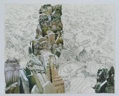Linda Cunningham, 'Traces: Prague', 1997, Rag Paper, Graphite, Pigment Print